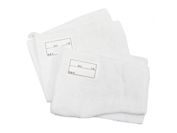 ピッカピカ 学校用雑巾 ネーム・ひも付 2枚