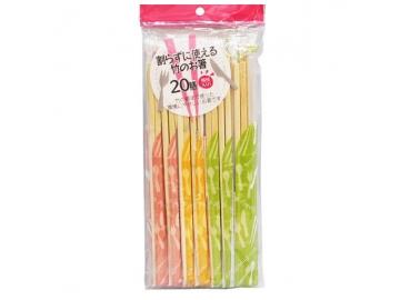 割らずに使える 竹のお箸 20膳 洋風 つまようじ付
