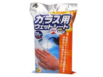 コンドル ガラス用ウェットシート オレンジ 20枚入