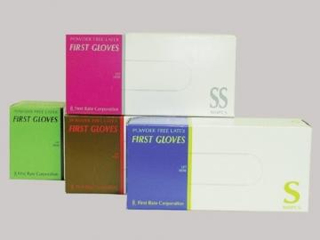 ファーストグローブ 100枚入×10箱 粉なしラテックス手袋