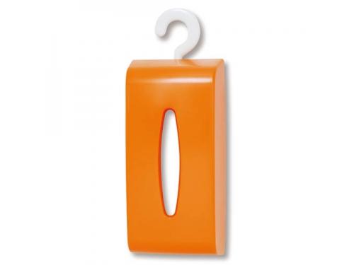 ティッシュペーパーボックス オレンジ