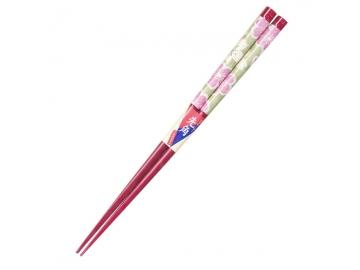 先角箸 花の宴 21cm