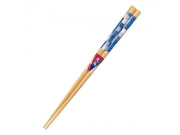 先角箸 雪の華 23cm