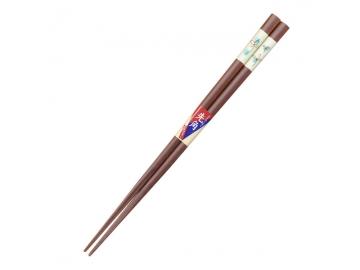 先角箸 そよ風 23cm ブルー