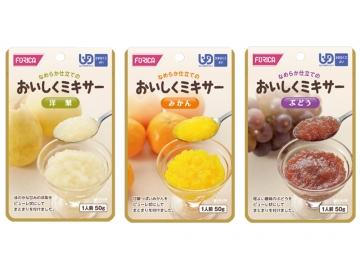 【便利な詰合せ】 おいしくミキサー かまなくてよい デザートセット (18食)
