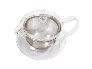 耐熱ガラス製 茶茶急須 丸 450ml