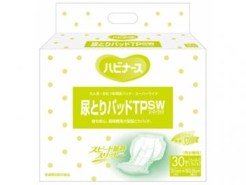 ハビナース 尿とりパッドTPSW(スーパーワイド) 30枚×4袋入(約5回分吸収)