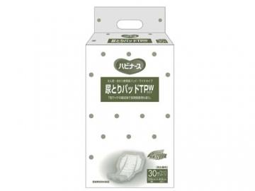 ハビナース 尿とりパッドTPW(ワイド)30枚×8袋入(約4回分吸収)