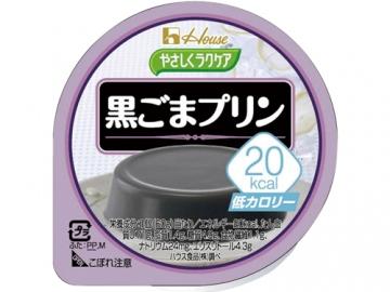 やさしくラクケア20kcalプリン 黒ごまプリン味