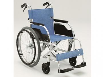 アルミ製車いすスタンダードタイプ ECO-201B