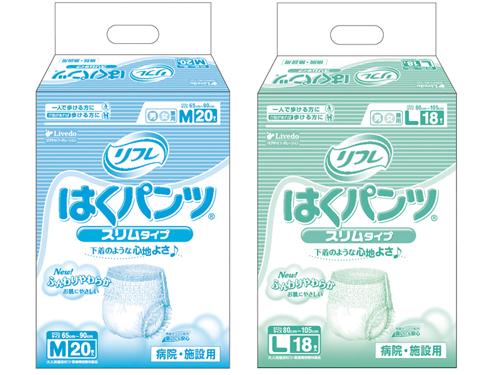リフレ はくパンツ スリムタイプ 6袋入 (約2回分吸収)【ケース販売】
