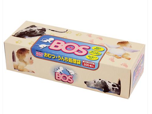 おむつ・うんち処理袋 防臭袋BOS(ボス) ボックスタイプ 200枚入