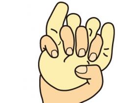 手の拘縮予防