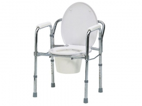 金属製トイレ