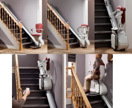 曲線型階段昇降機 ジョイス