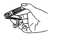 爪切りラッキリ