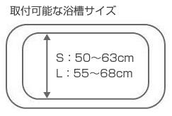 アロン化成 安寿 バスボードU-S バスボードU-L